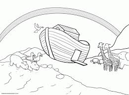 flood coloring pages noahs ark coloring page bible today kids of noah building pages