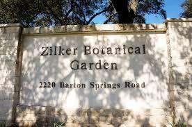 Zilker Botanical Garden Zilker Botanical Garden Landscape Voice