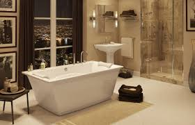 freestanding bathtub optik 6636 f maax bathroom