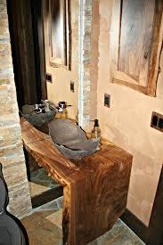 Walnut Bathroom Vanity Beautiful Custom Live Edge Walnut Bathroom Vanity