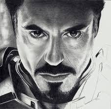 iron man pencil sketch pencil art drawing