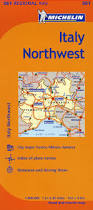Torino Italy Map by Michelin Italy Northwest Map 561 Maps Regional Michelin