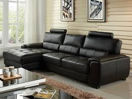 canape d angle noir canapé d angle cuir supérieur 4 coloris metropolitan ii