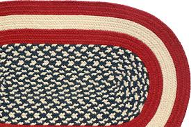 Braided Throw Rugs Americana Braided Rug