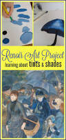 renoir art project for kids learning about shades u0026 tints u2014 happy