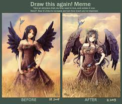 You Tried Meme - draw this again meme by radittz on deviantart