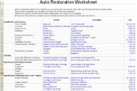 Auto Paint Shop Estimates by Estimating Costs
