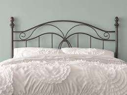Bedroom Furniture Metal Headboards Charlton Home Crocker Bedroom Metal Headboard U0026 Reviews Wayfair