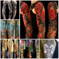 awesome sleeve tattoo arm tattoo 2016 danielhuscroft com