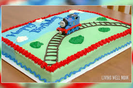 Sheet Cake Decoration Easy Diy Train Birthday Cakes Your Little Engineer Will Love