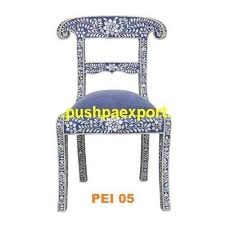 Bone Inlay Chair Bone And Mother Of Pearl Inlay Handicrafts Manufacturer From Udaipur