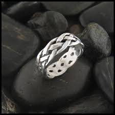celtic ring open weave ring in sterling silver walker metalsmiths celtic jewelry