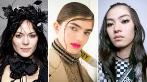 paris fashion week spring 2018 best beauty looks allure
