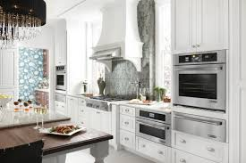 White Kitchen Appliances by Jenn Air