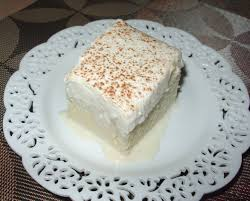 leches cake