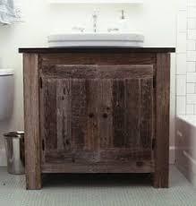 Bathroom Vanity Reclaimed Wood Reclaimed Wood Bathroom Cabinet Clever Ideas Home Ideas