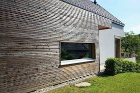 a combination of a flat and gable roof modern glass houses kager