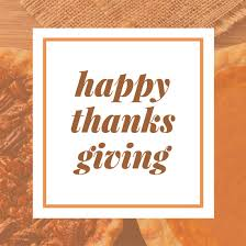 thanksgiving greeting social media post templates by canva