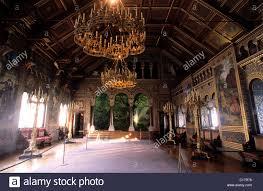 Neuschwanstein Castle Germany Interior Germany Bavaria Aera One Of The Many Rooms Inside The Stock