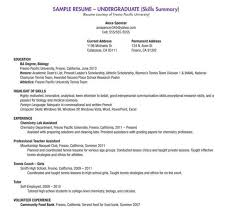 Resume Template Student by Undergraduate Resume Template Free Exles Www Omoalata