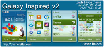 themes for nokia c2 touch and type galaxy s4 theme themereflex