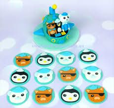 octonauts cake toppers octonauts party package sweet party treats madeit au