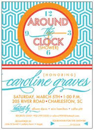 around the clock bridal shower around the clock bridal shower invitation we the o jays and