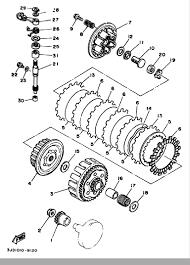 1989 yamaha yz125 yz125w clutch parts best oem clutch parts for