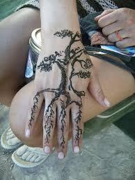tree henna tattoos egodesigns tats hennas