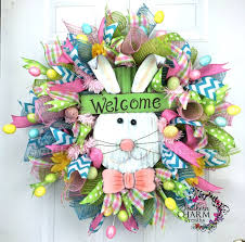 how to make easter wreaths spectacular st s day wreath tutorial easter bunny