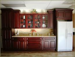 Furniture Style Kitchen Cabinets Red Kitchen Cabinet Enchanting Home Design