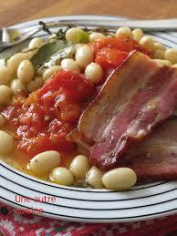 cuisiner les haricots blancs frais haricots blancs frais compotée de tomates poitrine fumée une