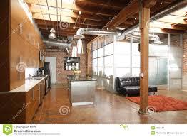 modern loft kitchen royalty free stock photography image 9821447