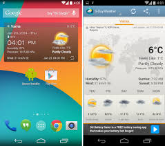 clock and weather widgets for android image from the 20 best weather widgets you should check out