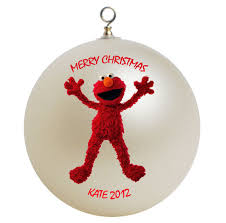 personalized clifford the big ornament gift