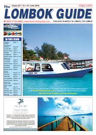 the lombok guide issue 221 by the lombok guide issuu
