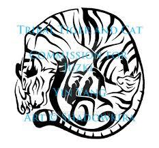 tribal yin yang tiger and cat com by shadowkira on deviantart