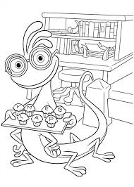 randall plate muffin monsters university coloring