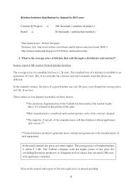 kitchen furniture list turkey s modular kitchen sector analysis
