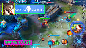 android ios warsong ウォーソング new moba gameplay