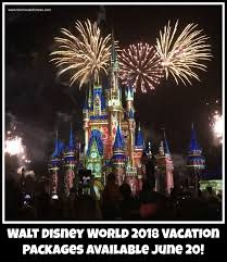 2018 walt disney world vacation packages available june 20