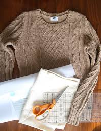 diy sweater diy sweater laptop tote easy sewing tutorial it s always autumn