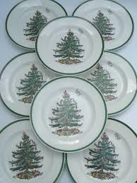 spode tree china set of 8 spode china dinner plates