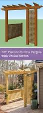 How To Build A Simple Pergola by 110 Best Diy Outdoor U0026 Garden Images On Pinterest Gardening Diy