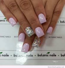 Light Purple Nail Designs Botanic Nails Light Purple And Silver U2013 Watch Out Ladies