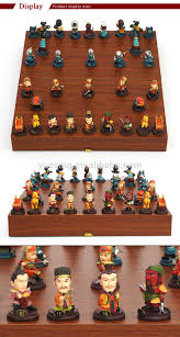 theme chinese chess set with antique custom cute three kings chess