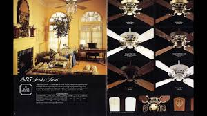 emerson ceiling fan catalog from 1985 youtube