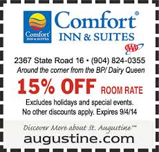 Comfort Suites Coupons St Augustine Outlet Coupons Tennis Warehouse Coupon