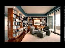 modern home library interior design modern home library design