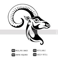 wild ram pre inked tattoo stamp 430153 dean pinterest products